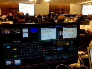 Multi-Camera Live Stream of an Event in NYC using a Tricaster Mini to switch