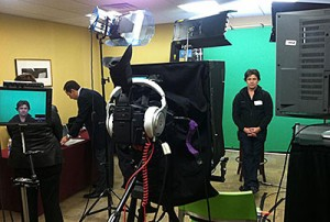 Green Screen Video Shoot in NYC