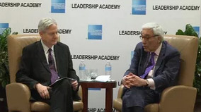Live Streaming Reynold Levy Discussing the Transformation of Lincoln Center in NYC for AmexLeads